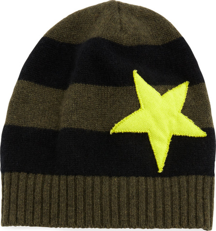 Lisa Todd Lucky Star Striped Cashmere Hat