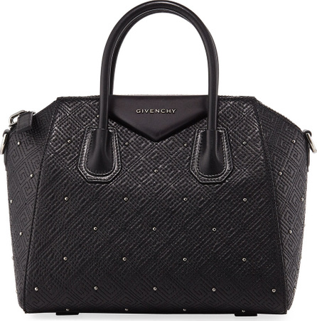 Givenchy Antigona Small Studded Leather Satchel Bag
