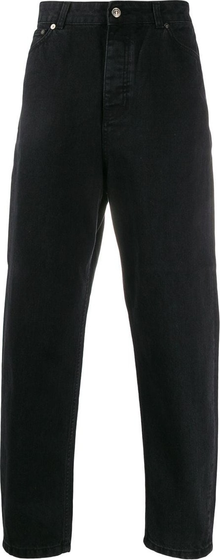 Tom Wood High waisted tapered jeans