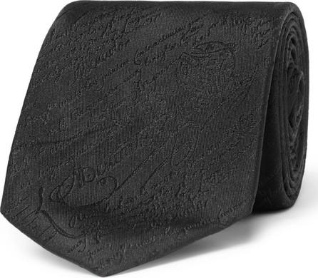 Berluti 7cm Scritto Silk-Jacquard Tie