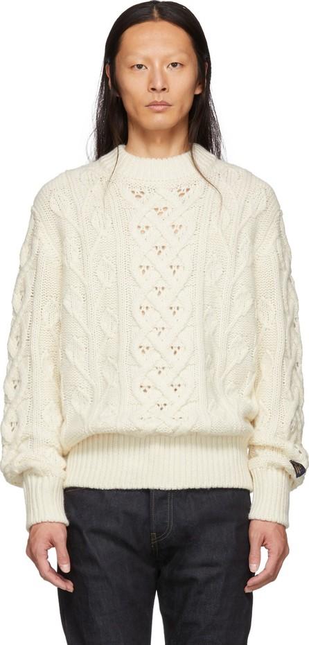 Aimé Leon Dore Off-White Fisherman Sweater