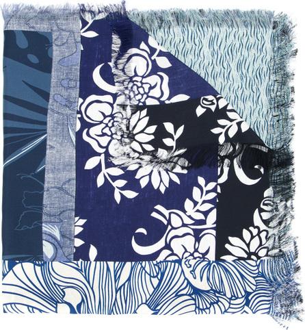 Pierre-Louis Mascia Multi-pattern scarf