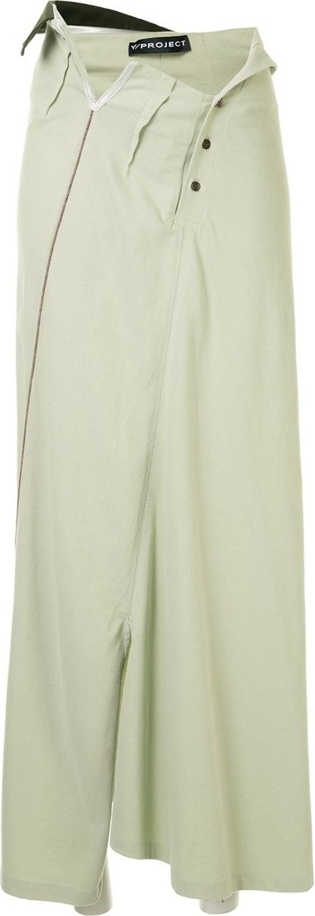 Y/Project Reconstructed maxi skirt