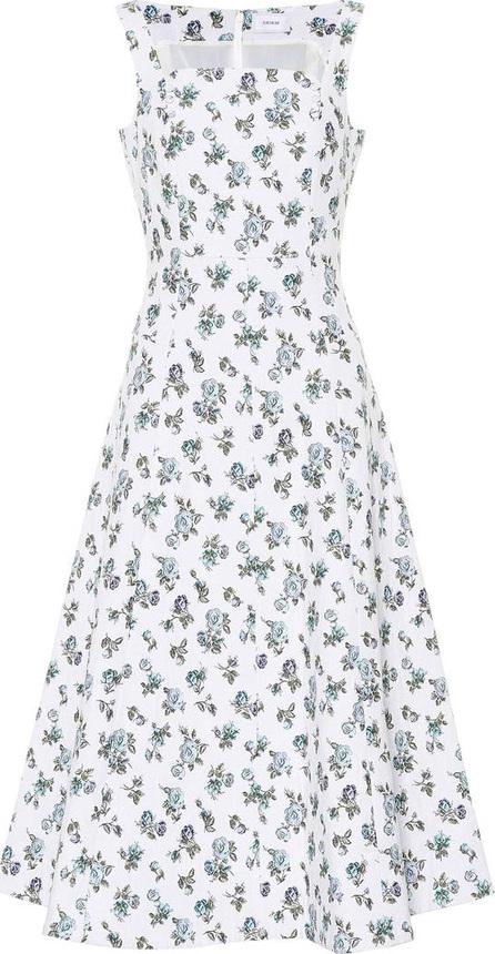 Erdem Floral stretch cotton dress