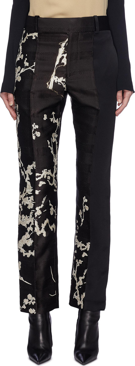 Haider Ackermann 'Leonotis' floral embroidered patchwork pants