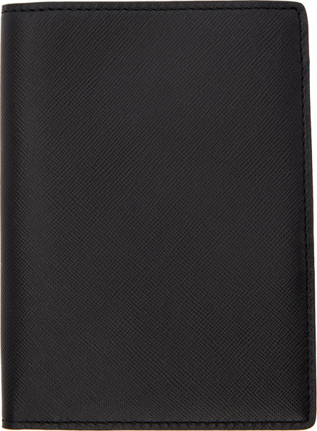 Woman by Common Projects Black Saffiano Passport Holder