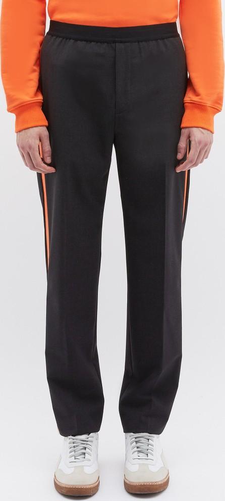 Helmut Lang Stripe outseam wool suiting pants