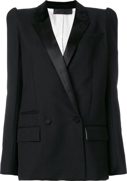 Haider Ackermann power shoulder blazer