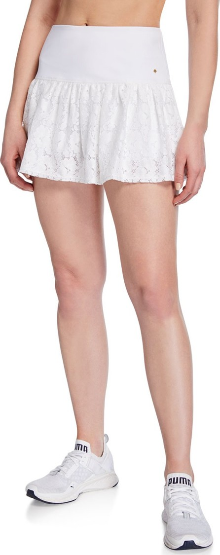 Kate Spade New York textured lace tennis skirt
