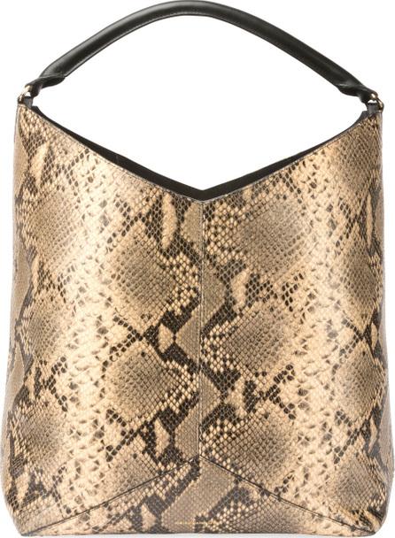 Dries Van Noten Snake-Embossed Leather Tote Bag