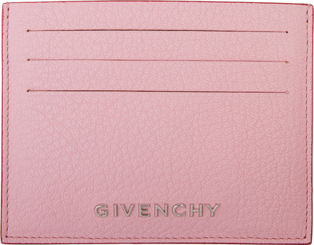 Givenchy Pink Bicolor Pandora Card Holder
