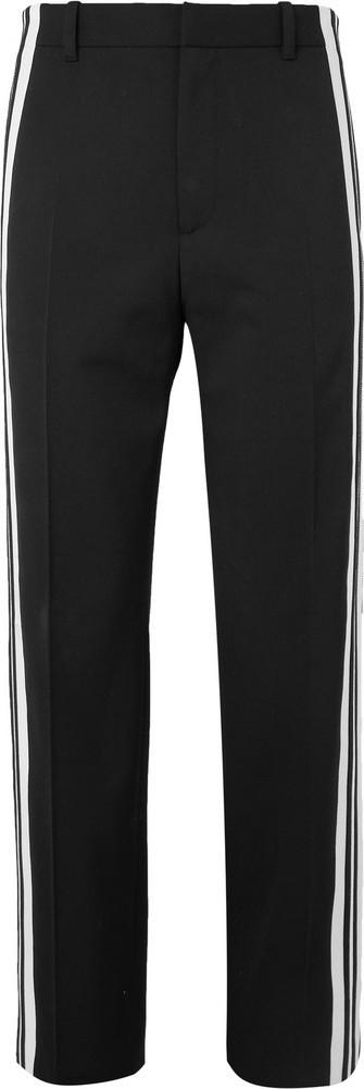 Balenciaga Striped Twill Trousers