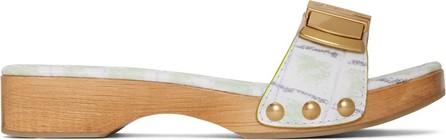 Jacquemus Green 'Les Tatanes' Sandals