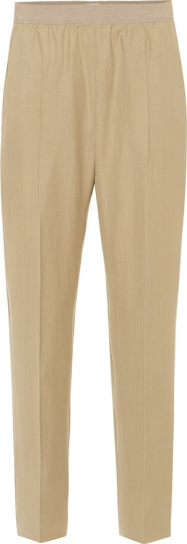 Agnona Wool and cashmere trackpants