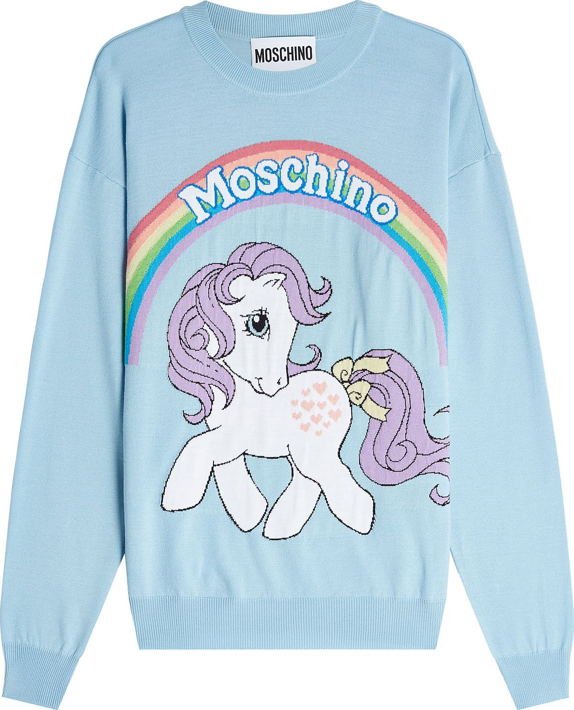 Moschino - Little Pony Virgin Wool Pullover