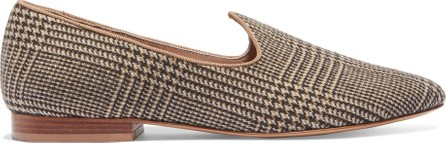 Giuliva Heritage Collection + Le Monde Beryl Venetian Prince of Wales checked slippers