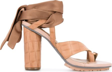 GINGER & SMART Coretta ankle wrap heel