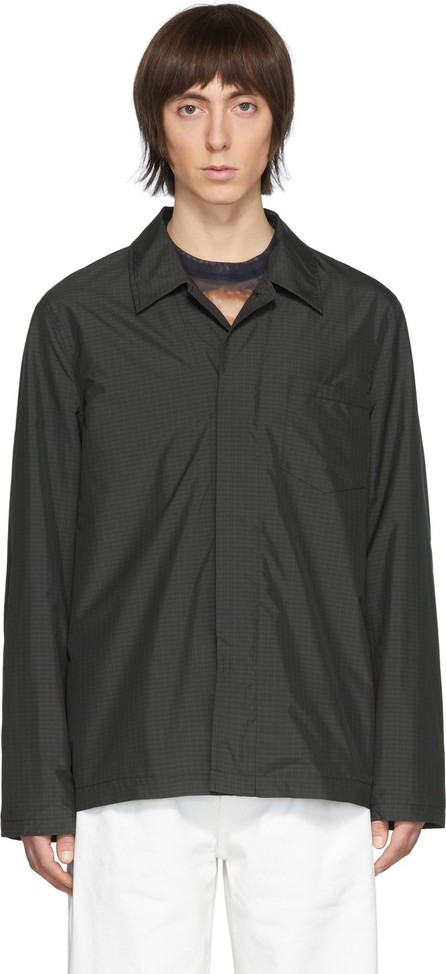 Our Legacy Grey Tech Archive Shirt Jacket