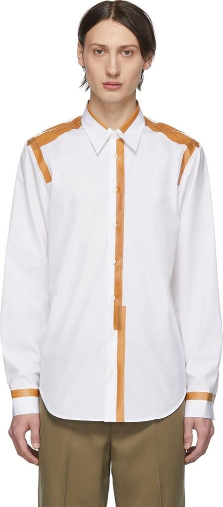 Helmut Lang White Taped Shirt
