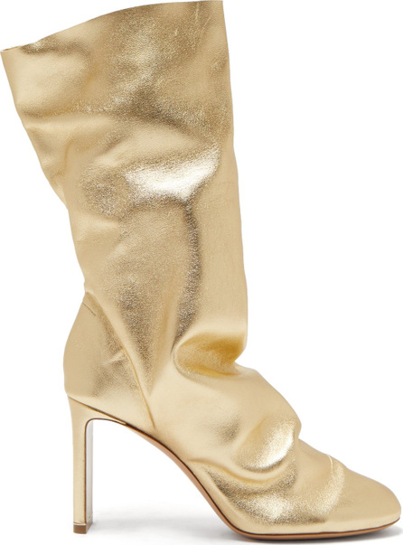 Nicholas Kirkwood D'Arcy metallic-leather boots