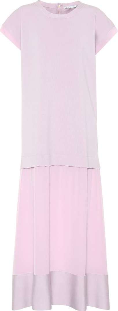 Agnona Wool and silk maxi dress