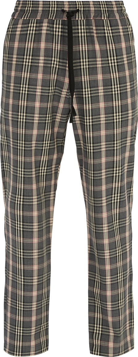 Barena Venezia Checked straight-leg woven trousers