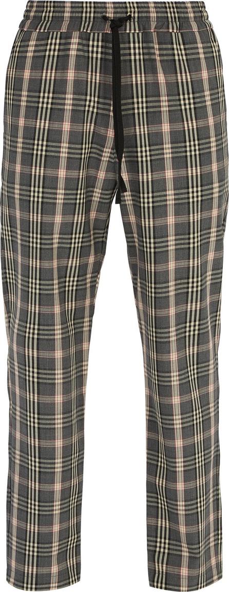 Barena Venezia Checked straight-leg woven trousers