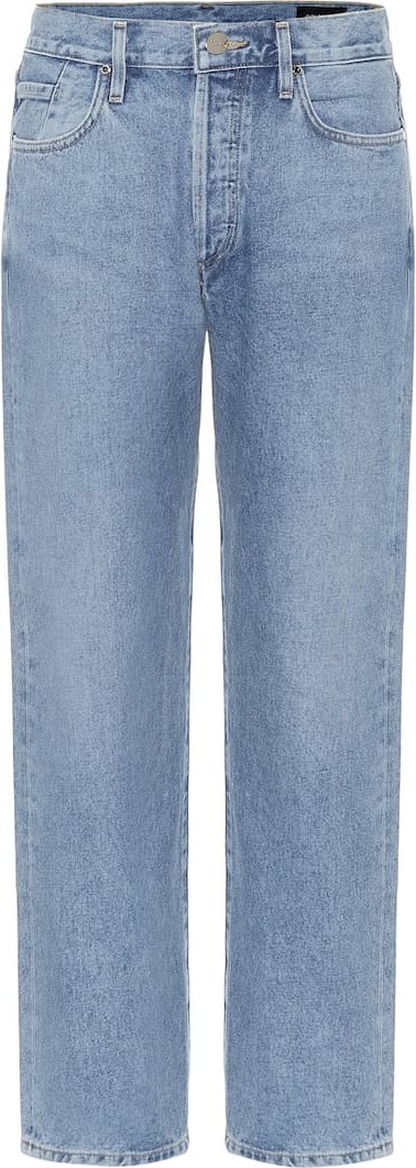 GOLDSIGN The Relaxed Straight mid-rise jeans