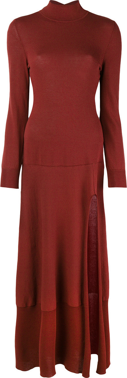 Jacquemus Turtle-neck sweater dress