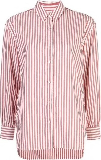 Nili Lotan Noa Striped Button Down Shirt