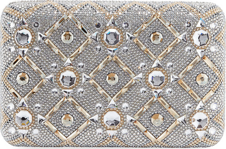 Judith Leiber Starbright Seamless Crystal Clutch Bag