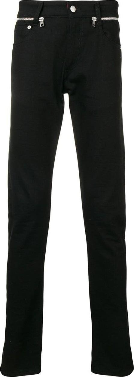 Alexander McQueen Zip detail skinny jeans