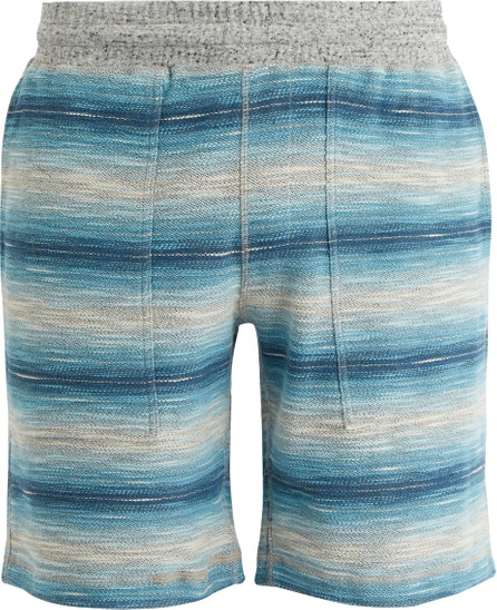 Faherty Reversible striped cotton shorts