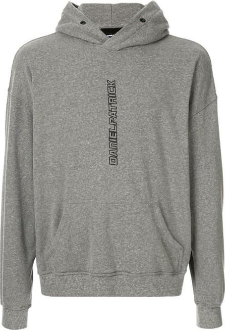 Daniel Patrick Logo embroidered hoodie