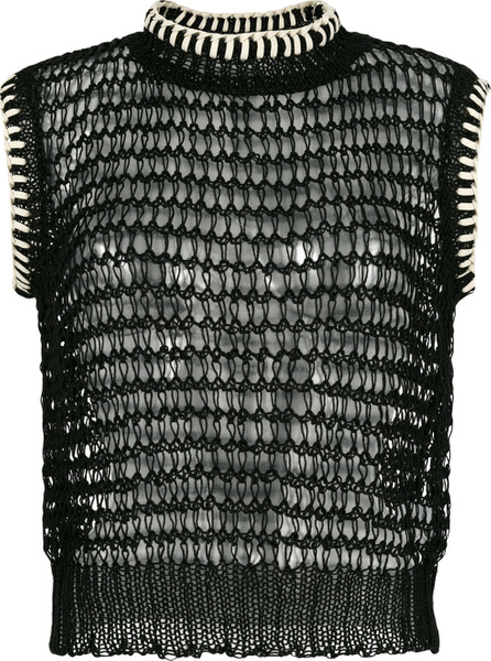 Jil Sander Open knit top