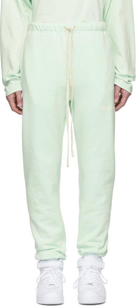 Essentials SSENSE Exclusive Green Fleece Lounge Pants