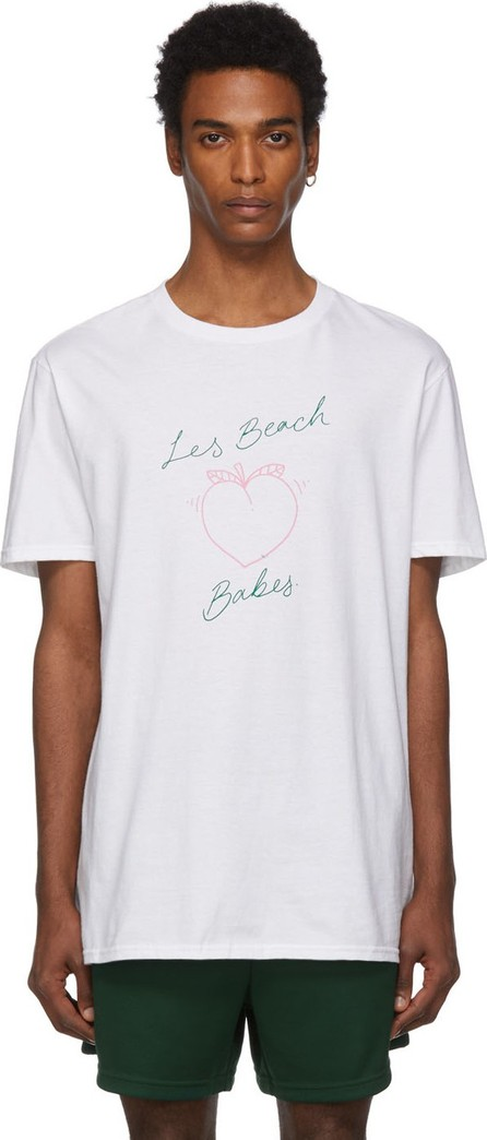 Double Rainbouu White 'Les Beach Babes' T-Shirt