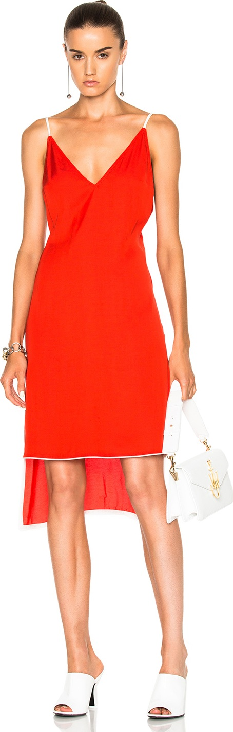 Frankie - Slip Dress with Piping