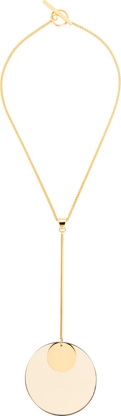 Jil Sander Circle pendant necklace