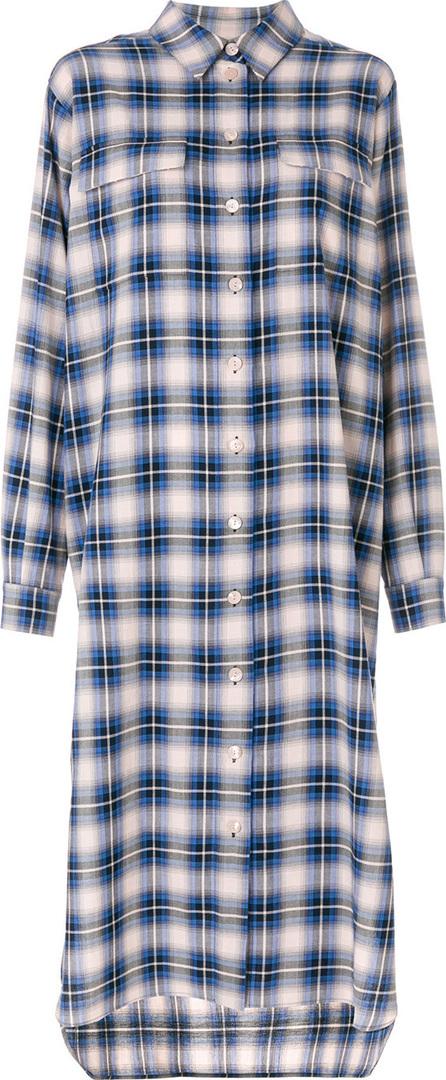 Alberta Ferretti Checked shirt dress