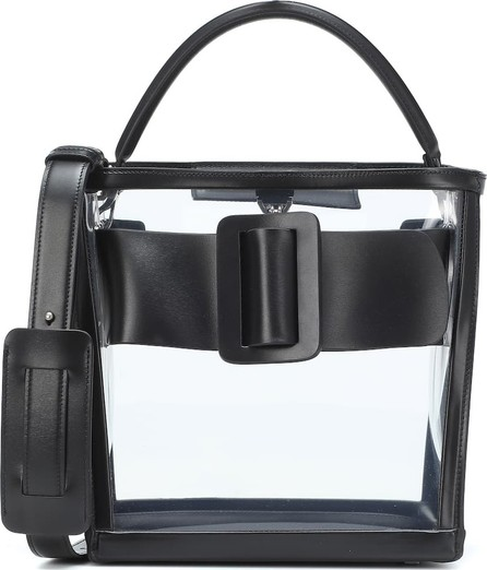 BOYY Devon leather and PVC bucket bag