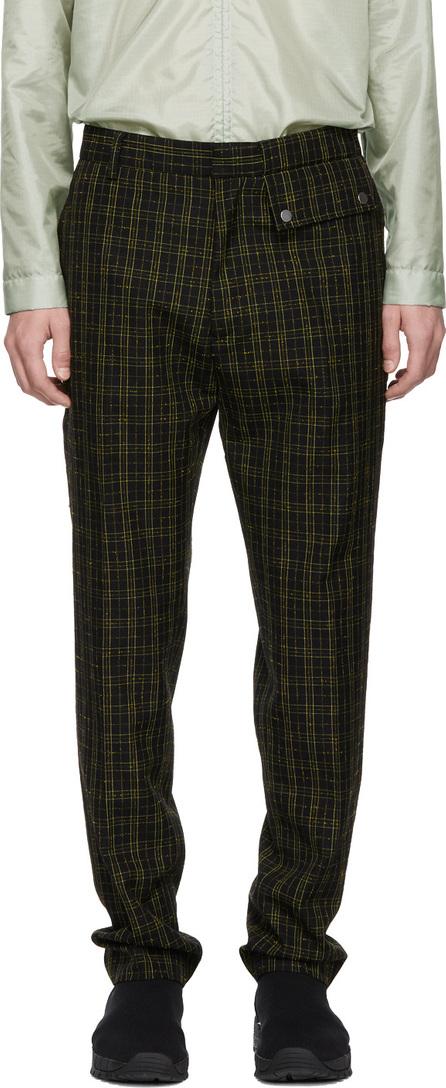 Cmmn Swdn Black & Yellow Stenson Trousers