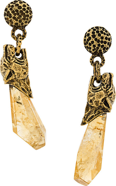 Prada Tiger stone earrings