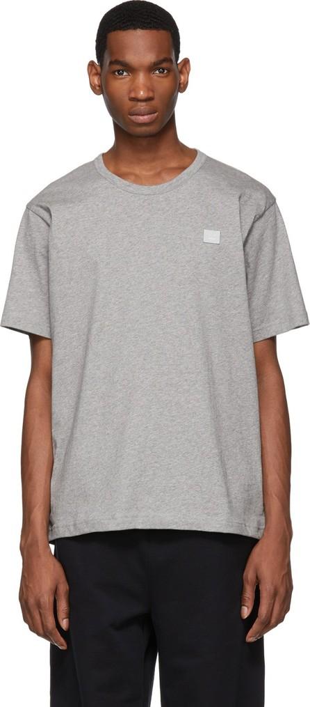 Acne Studios Grey Nash Face T-Shirt