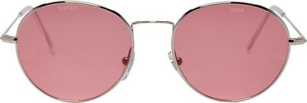 Gosha Rubchinskiy Silver & Pink Super Edition Wire Sunglasses