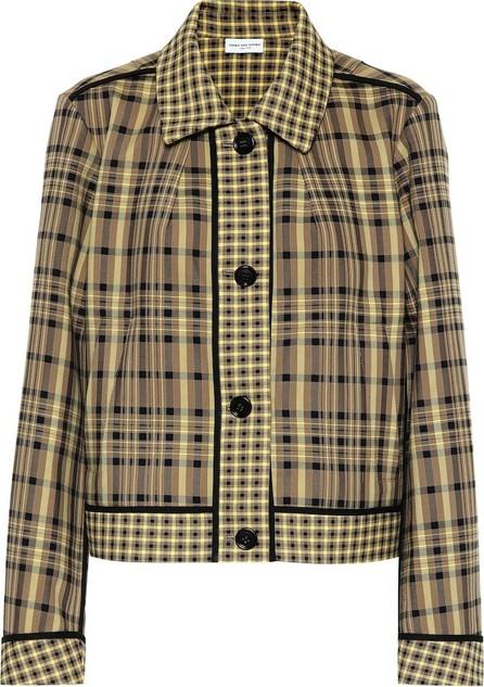 Dries Van Noten Checked cotton jacket