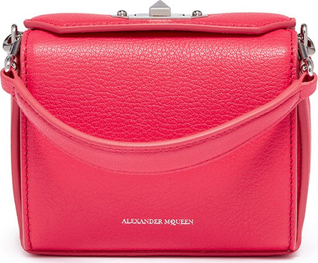 Alexander McQueen 'Nano Box Bag' in grainy calfskin leather