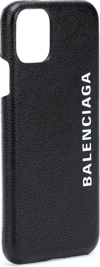 Balenciaga Cash leather iPhone 11 case