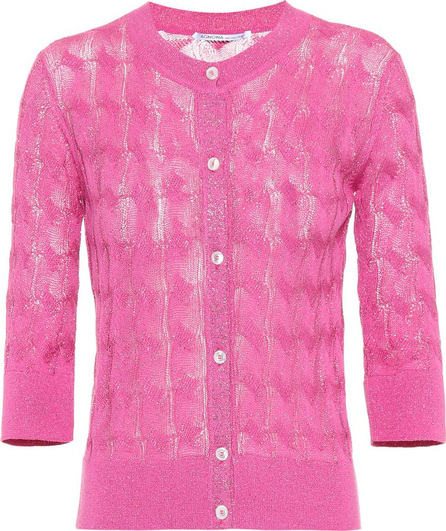 Agnona Cotton and silk-blend cardigan