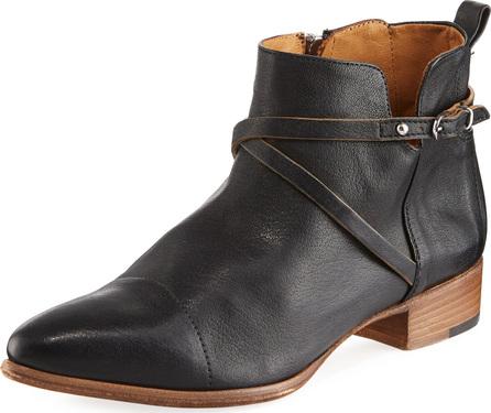 Alberto Fermani Mea Leather Ankle Boot